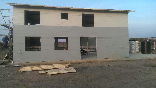 Metall-Lager-Gebäude