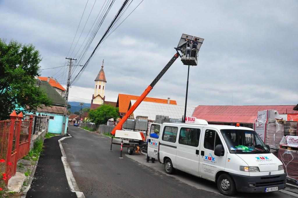 Straßenbeleuchtung LED