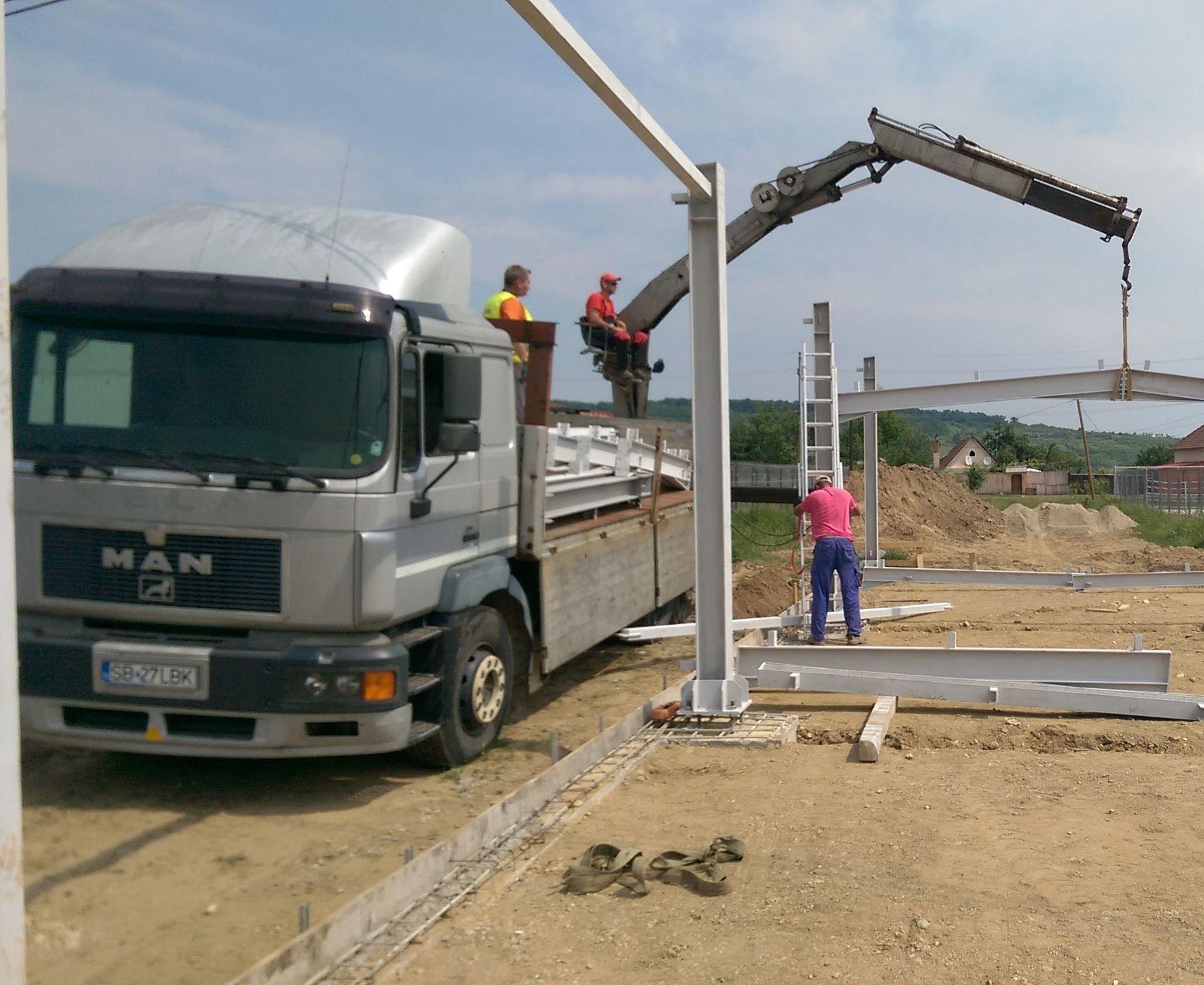 Constructie Hala Metalica